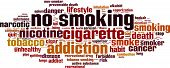 foto of non-toxic  - No Smoking Word Cloud Concept - JPG