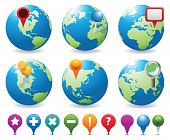 Globes&Navigation Icons