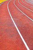 foto of track field  - Running track  - JPG