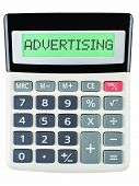 Calculator With Advertising