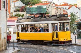 foto of tram  - LISBON - JPG