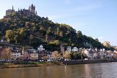 Castle And City Of Cochem, Germany