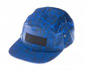 pic of gangsta  - sports cap isolated on a white background - JPG