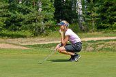 Vera Shimanskaya the professional golfer since 2007