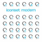 Iconset Modern Blue