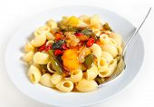 Pasta With Roasted Veg poster