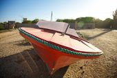 Speed Boat In Saint Louis