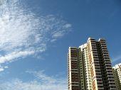A Block Of Hdb Flats In Singapore