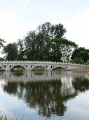 Bridge At Chinese Garden In Singapore