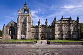 picture of quadrangles  - Aberdeen University King - JPG