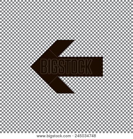 poster of Undo Arrow Icon, Redo Arrow Icon. Direction Arrow Sign. Motion Icon. Arrow Button. Eps