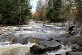 foto of woodstock  - View of Lost River in Autumn - JPG