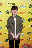 LOS ANGELES - OCT 22:  Greyson Chance arriving at the 2011 Variety Power of Youth Evemt at the Param