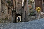Southern Italy, Village Square