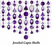 Jeweled Capzi Shells