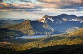 Table Rock State Park South Carolina Blue Ridge Mountains Landscape
