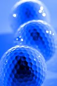Golf Ball for sports and recreation to be healthy athletics poster