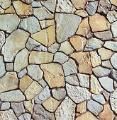 image of stone floor  - Background of stone wall texture  - JPG