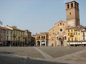 Italian Village Piazza