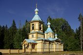 Gethsemane Monastery In Karelia, Russia