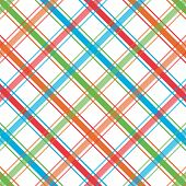 Bright Plaid Pattern