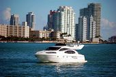White Cabin Cruiser And Sobe Condos