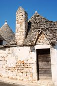 Old Trulli Houses In Alberobello, Apulia