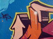 Graffiti-Hintergrund