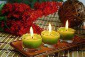Three Yellow Candles