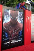 LOS ANGELES - JUN 28: Spider Man at the premiere of Columbia Pictures' 'The Amazing Spider-Man' at t