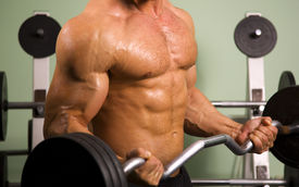 picture of weight-lifting  - Close - JPG