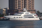 Luxury Yacht Visits Kaohsiung Port