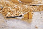 ferramenta de trabalho de madeira