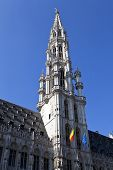 Brussels City Hall/town Hall (hotel De Ville) In Grand Place