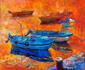 Barcos e Pier
