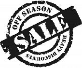 Stamp 'off Season Sale''