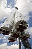 MOSCOW - AUGUST 12: First Russian Space Ship