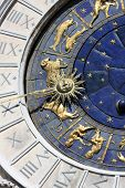 Astrological clock