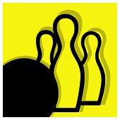Bowling Pictogram