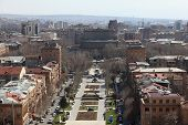 View Of Yerevan From Cascade