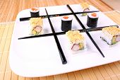 Play Tic Tac Toe With Sushi And Chopsticks