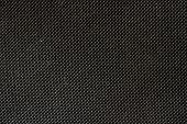 High Resolution Texture Of Black Cloth With Holes In Staggered R