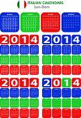 Calendar 2014 Italian