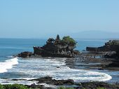 stock photo of tanah  - Tanah Lot Temple in Bali - JPG