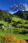 Santa Maddalena Village, Val di Funes, Italy, Europe