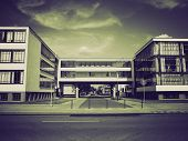 Vintage Sepia Modern Architecture