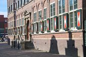 The School Building  In Dordrecht, Netherlands