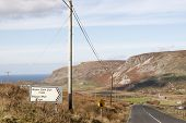 Road To Gleann Colm Cille, Ireland
