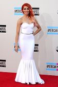 LOS ANGELES - NOV 24:  Bonnie McKee at the 2013 American Music Awards Arrivals at Nokia Theater on N