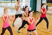 stock photo of gym workout  - fitness - JPG